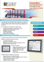 HMI, automation, cold chain