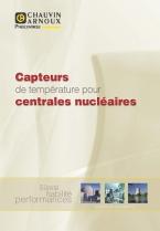 Brochure Capteurs de température pour EPR
